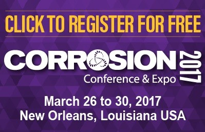 Join Electralloy for NACE 2017 in The Big Easy.  Get free passes.